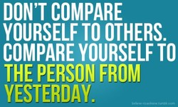 DON'T COMPARE 