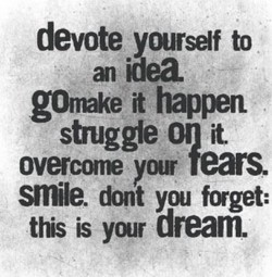 devote yourself to 