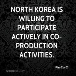 NORTH KOREA IS 