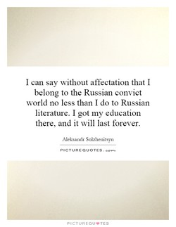 I can say without affectation that I 