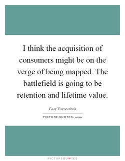 I think the acquisition of 