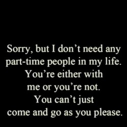Sorry, but I don't need any 