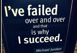 I've failed 