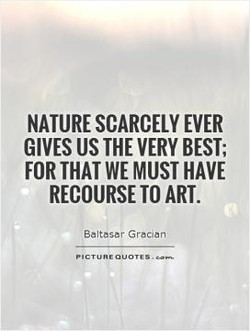 NATURE SCARCELY EVER 