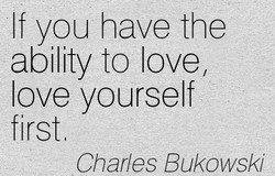 If you have the 