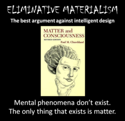 ELIMINATIVE MATERIALISM 