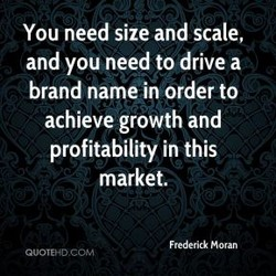 You need size and scale, 