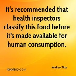 It's recommended that 