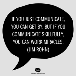 IF YOU JUST COMMUNICATE, 