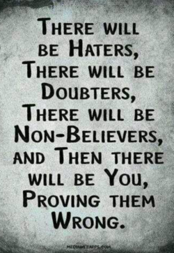 THERE WILL 