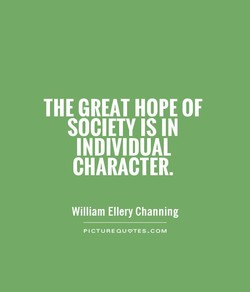 THE GREAT HOPE OF 