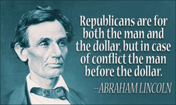Republicans are for 