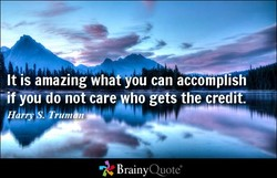 It IS amazing whafjou can accomplish 