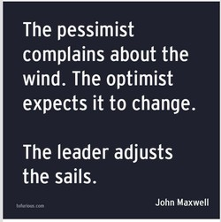 The pessimist 