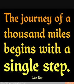 The journey of a 