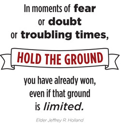 In moments of fear 
