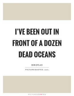 I'VE BEEN OUT IN 