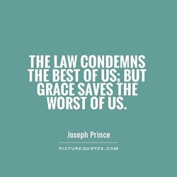 THE LAW CONDEMNS 