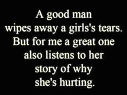 A good man 