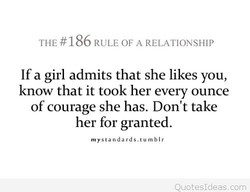 THE #186 RULE OF A RELATIONSHIP 
