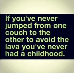 If youlve never 