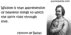Wisdom is that apprehension 