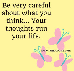 Be very careful 