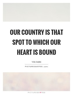OUR COUNTRY IS THAT 