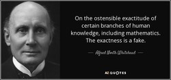 On the ostensible exactitude of 