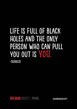 LIFE IS FULL OF BLACK 