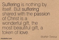 Suffering is nothing by 