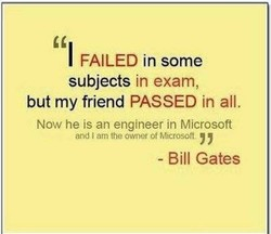 FAILED in some 