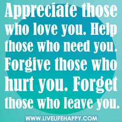 Appreciate tnqse 