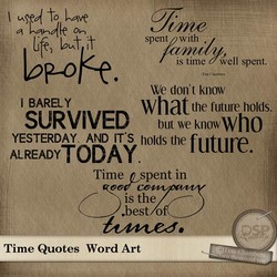 Gfr) Int IDP..Olk.f. i BARELY spent with is time well spent. -Tim C We don't know what the future holds, SURVIVED butweknowwho YESTERDAY. AND IT'S holds the future. ALREADY TODA Y. Time Quotes Time n spent in 00b co is the Jest o Word Art