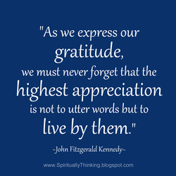'IAS we express our 