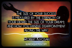 THE SIZE OF YOUR SUCCES 
