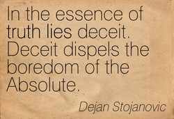 In the essence of 