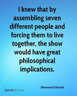 I knew that by 