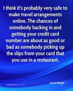 I think it's probably very safe to 