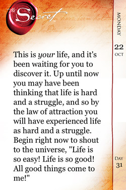This is your life, and it's 
