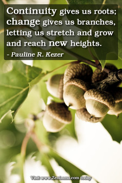 Continuity gives us roots; 