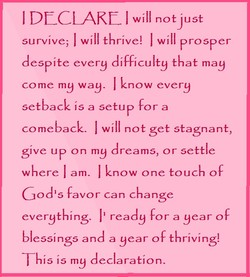 I DECLARE I II 
