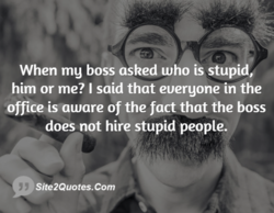 When mg boss asked who is stupi 