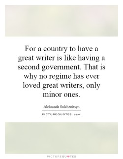 For a country to have a 