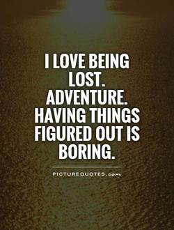 I LOVE BEING 