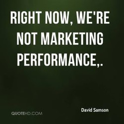 RIGHT NOW, WE'RE 
