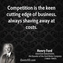 Competition is the keen 
