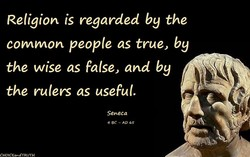 Religion is regarded by the 