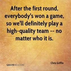 After the first round, 