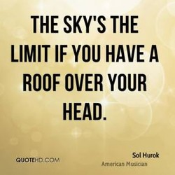 THE SKY'S THE 